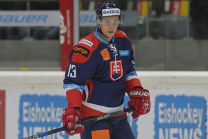 Bruno Mráz v drese slovenskej reprezentácie.