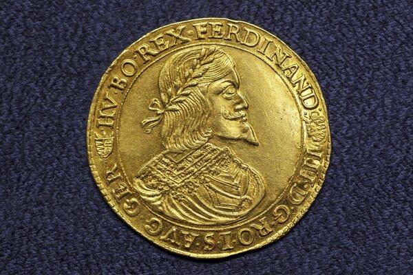 Desaťdukát panovníka Ferdinanda III.