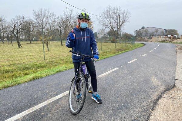 Výstavba Vážskej cyklomagistrály pokračuje.