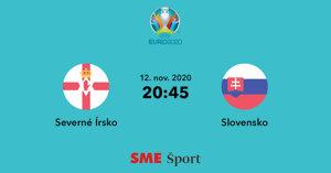 Futbal Severné Írsko - Slovensko, baráž EURO 2020 dnes LIVE.