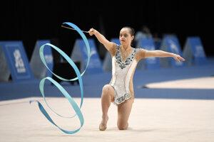 Na 15. Svetových letných hrách Špeciálnych olympiád vSpojených arabských emirátoch vyhrala Gizka zlato vmodernej gymnastike vo viacboji.