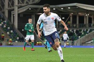 Michal Ďuriš rozhodol zápas Severné Írsko - Slovensko, baráž EURO 2020.