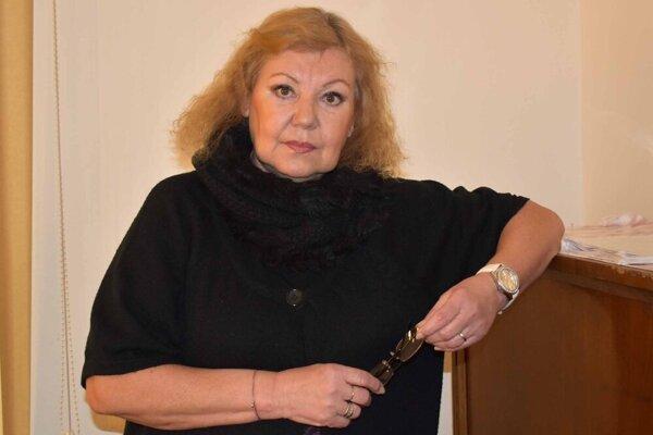 Ľuba Blaškovičová je spolu s ďalšími troma poslancami proti aktuálnemu predaju plavárne mestu.
