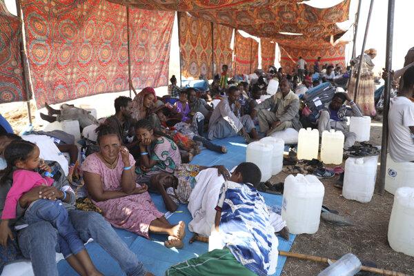 Konflikt vyháňa čoraz viac etiópskych utečencov do susedného Sudánu.