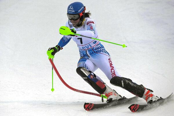 Petra Vlhová - slalom v Levi