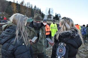 Rozhovor s vedúcim záchranného odlovu Jánom Gulasom.