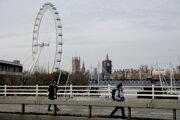 Lockdown v Londýne v piatok 20. novembra.