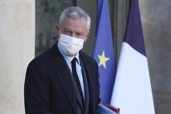 Bruno Le Maire, francúzsky minister financií.