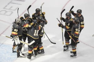 Hokejisti tímu NHL Vegas Golden Knights.