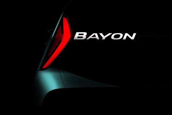 Hyundai Bayon odhaľuje prvý detail.