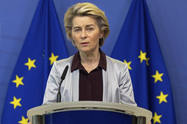 Predsedníčka eurokomisie Ursula von der Leyenová.