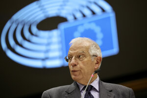 Šéf zahraničnej politiky EÚ Josep Borrell.