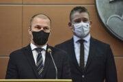 Dočasný prezident Policajného zboru SR Peter Kovařík.