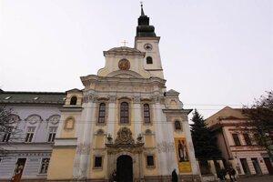 Katedrála sv. Jána Krstiteľa v Prešove.