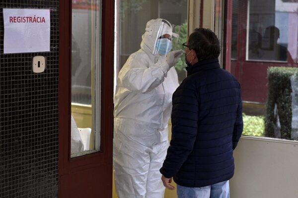O antigénové testovanie v Trebišove je záujem.