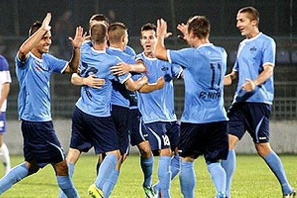 Futbalisti Nitry získali vonku už 9 bodov, kým doma len šesť.