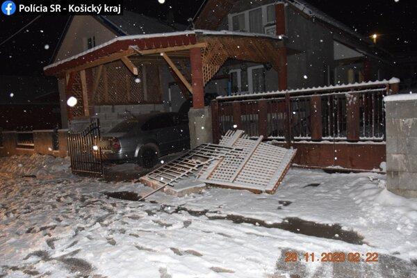 Predbežná škoda bola vyčíslená na 1 200 eur.