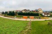 Práce na Vansovej ulici v Starej Ľubovni.