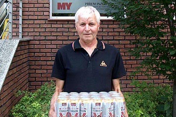 Vo 4. kole si kartón piva Corgoň rozdelili Viliam Félis a Štefan Matesko. Na snímke je V. Félis z Vrábeľ.