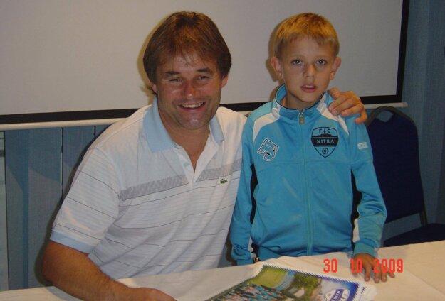 Ivan Galád a Jakub Tancik v októbri 2009.