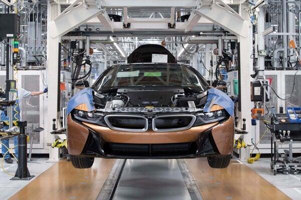 Pri výrobe modelu i8 Roadster BMW použilo viacero komponentov z 3D tlačiarne.
