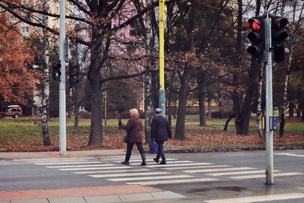Úsek na Levočskej ulici je pre chodcov bezpečnejší.
