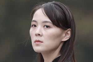 Kim Jo-čong, sestra severokórejského vodcu Kim Čong-una.