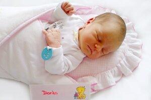 Diana Pometlová z Bojníc sa narodila 28.11. v Bojniciach