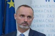 Tomáš Valášek, poslanec NR SR za stranu Za ľudí a predseda európskeho výboru.