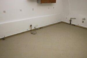 Nová podlaha.