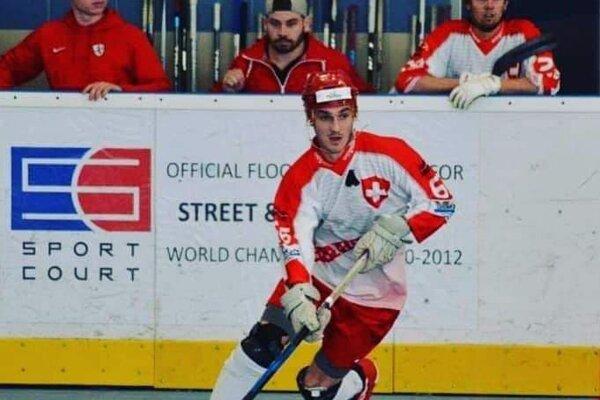 Mário Paulík v reprezentačnom drese Švajčiarska
