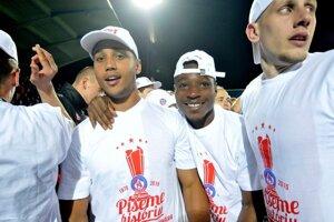 Trenčania v krátkom čase získali dva ligové tituly a dvakrát brali Slovnaft Cup.