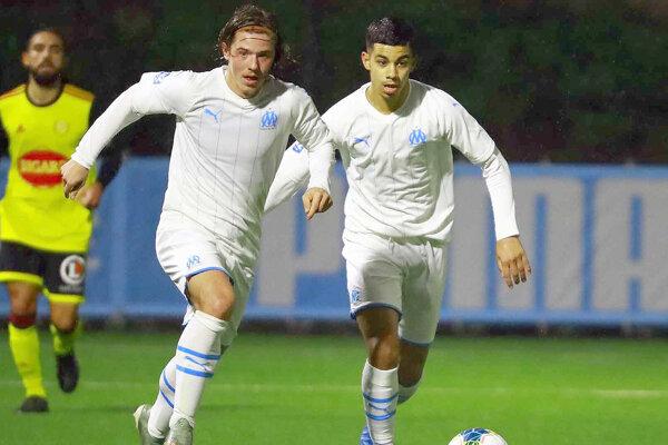 Dominik Topoľský bol posledné dva roky súčasťou B-tímu Marseille.