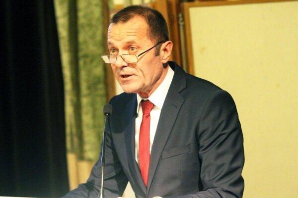 Ladislav Gádoši, predseda Západoslovenského futbalového zväzu.