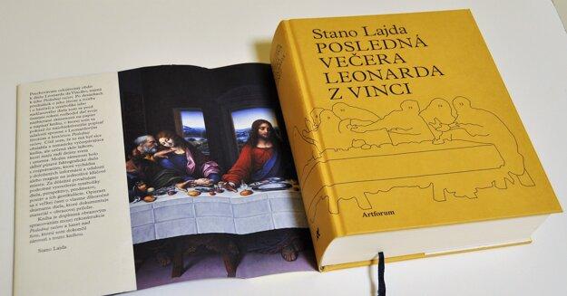 Kniha Posledná večera Leonarda z Vinci od Stana Lajdu