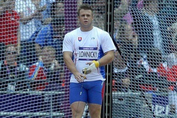 Marcel Lomnický na archívnej snímke z olympiády v Londýne.