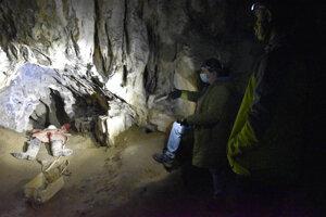 Stanišovská jaskyňa v zime