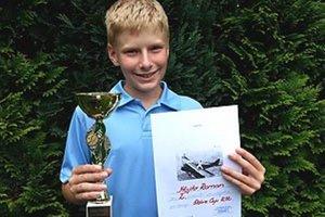 Roman Mojto skončil druhý na turnaji v Trnave.