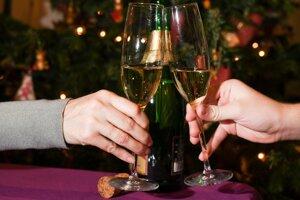 Počas sviatkov sa zvyšuje konzumácia alkoholu.