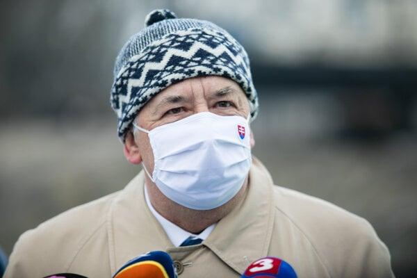 Minister životného prostredia Ján Budaj (OĽaNO).
