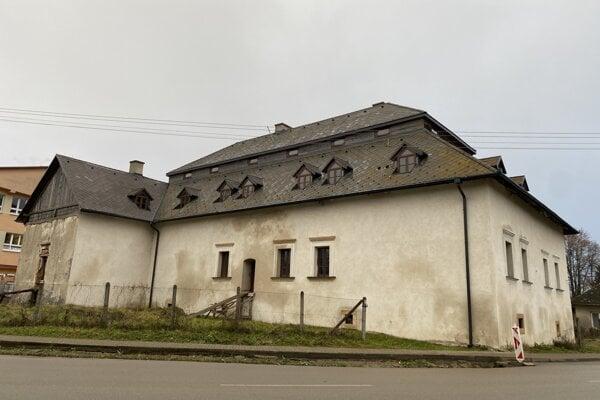 Kaštieľ zo začiatku 17. storočia.