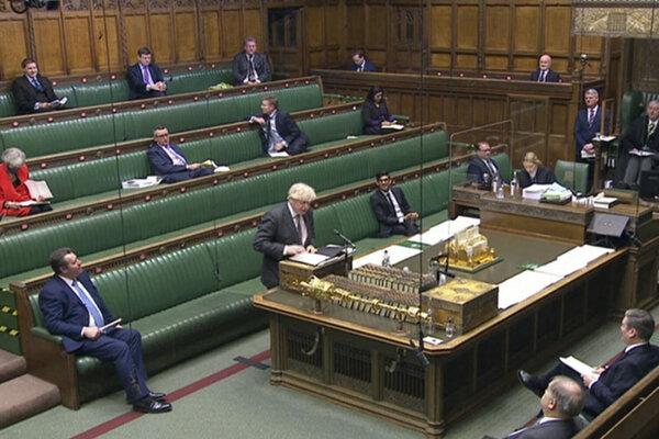 Dolná komora britského parlamentu.