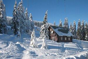 Zima vie vytvárať nádherné obrazy snehových vločiek,  rozprávkovú romantickú krajinu. Takto to kedysi vyzeralo  na Martinských holiach.
