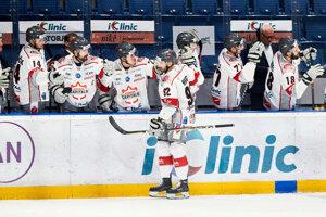 Hokejisti Bratislava Capitals - ilustračná fotografia.