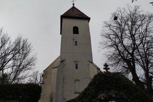 Kostol v Zemianskych Kostoľanoch.