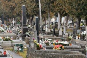 Spišskonvoveský cintorín.