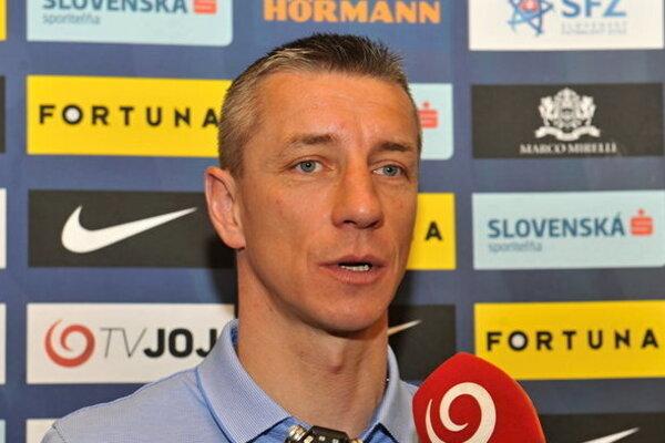 Bývalý superkanonier Marek Mintál na jeseň pôsobil pri slovenskej reprezentácii.