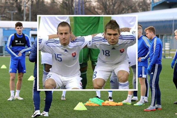 Internetom po podpise Erika Jendrišeka (vo výreze vpravo) letela myšlienka - inšpiruje k návratu 60-násobného reprezentanta Miroslava Stocha (vľavo).