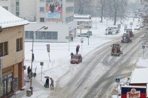 Zima v Leviciach, 2013.