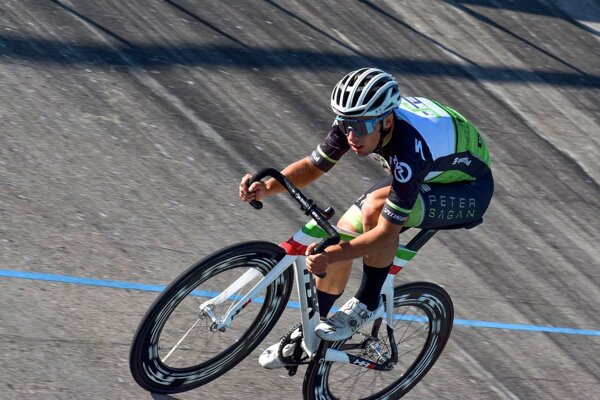 Martin Svrček v drese Cys-Akadémia Petra Sagana.